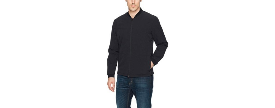 levi's men's packable bomber jacket commuter