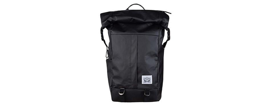 levi's men's roll top backpack