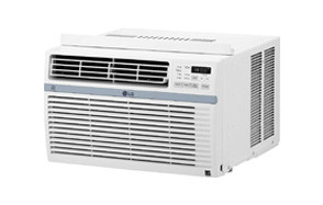 lg window-mounted remote control air conditioner