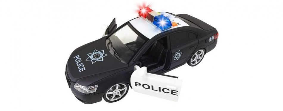 liberty imports friction powered police car
