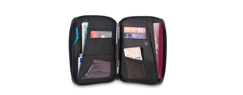 life venture rfid mini travel wallet