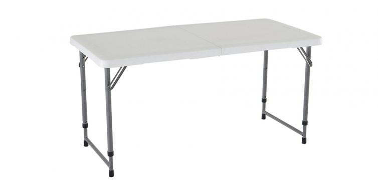 Lifetime 4428 Height Adjustable Folding Utility Table