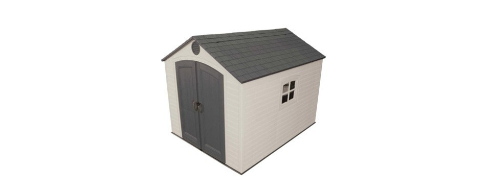 lifetime 6405 outdoor storage shed