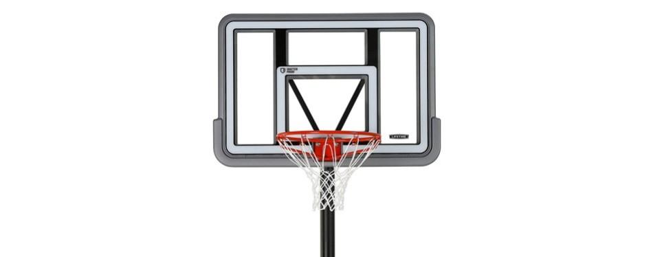 lifetime portable basketball hoop system