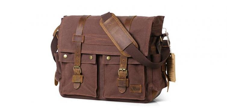 Lifewit Messenger Bag Laptop Case Combo