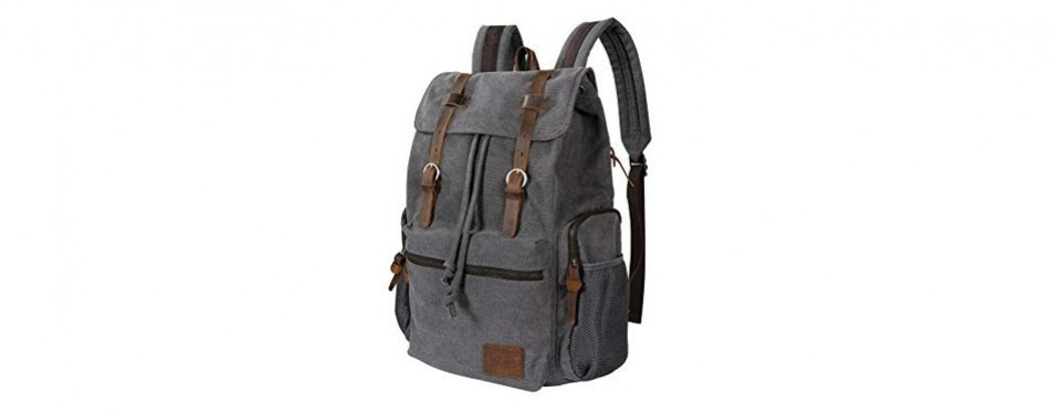 dfddd320121 10 Best Canvas Backpacks In 2019  Buying Guide  – Gear Hungry