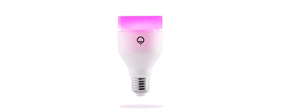 lifx (a19) wi fi smart led light bulb