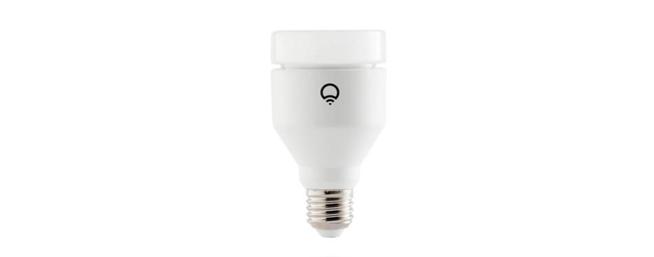 lifx (a19) wi-fi smart led light bulb