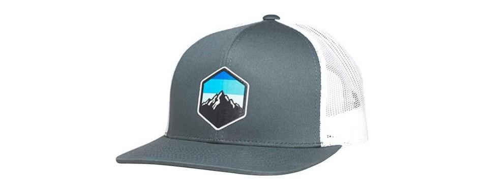 lindo trucker hat - mountain sky