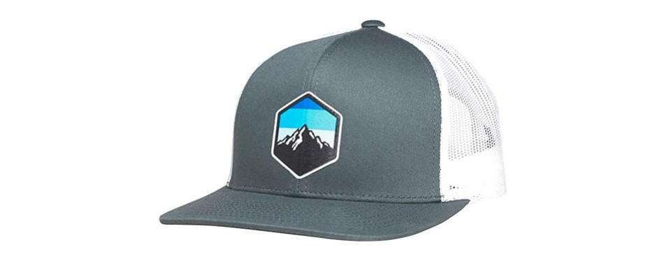 lindo trucker hat - mountain sky
