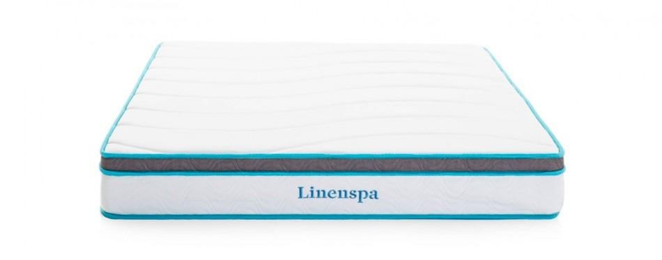 "linenspa 8"" innerspring hybrid mattress"