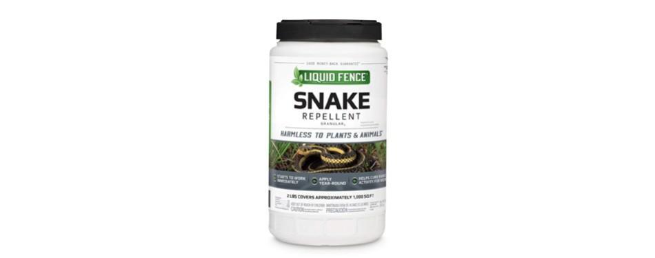 liquid fence granular snake repellent
