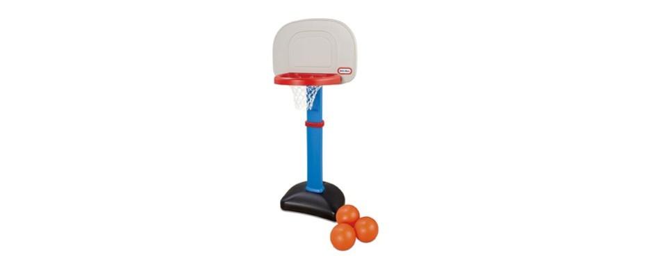 little tikes easyscore basketball hoop set