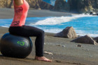 live infinitely exercise ball