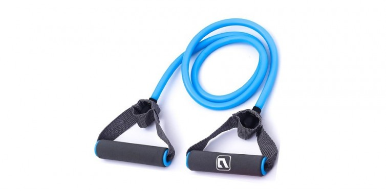 liveup sports resistance band with handles