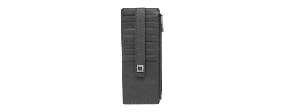 lodis artemis rfid protection credit card case with zipper