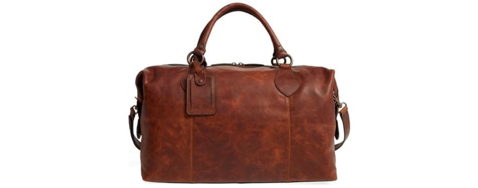 logan overnight bag, by frye
