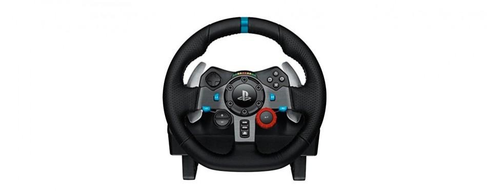 logitech driving force racing wheel