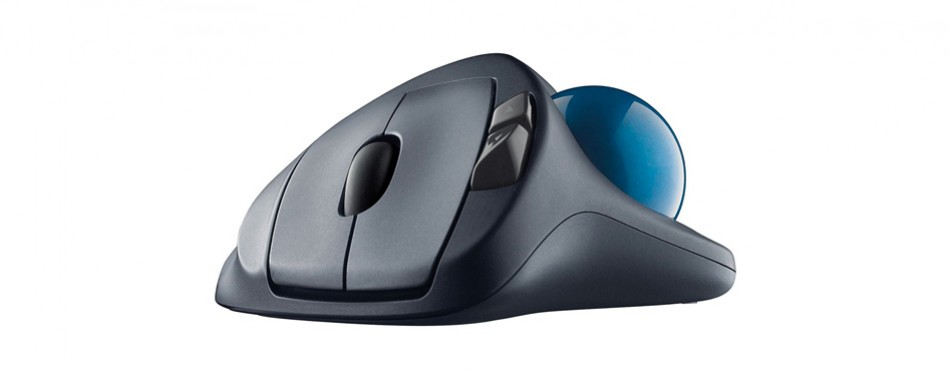 logitech wireless trackball ergonomic mouse