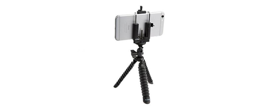 loha flexible smartphone tripod