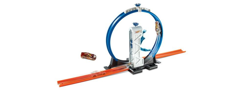 loop launcher playset hot wheels track
