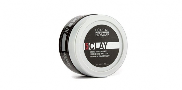 L'Oreal 5 Strong Hold Hair Clay for Men
