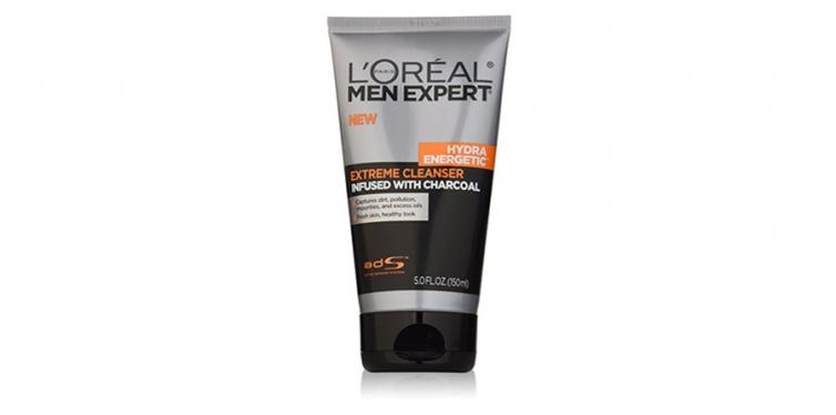 L'Oreal Paris Men's Hydra Charcoal Face Cleanser