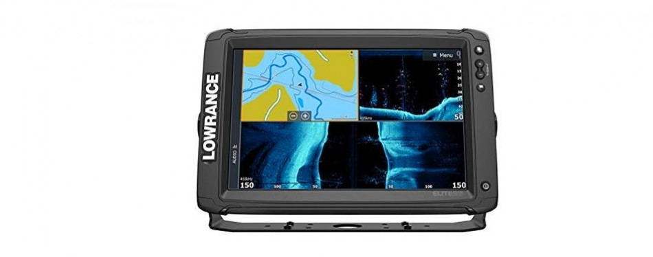 lowrance elite ti2 fish finder with active imaging