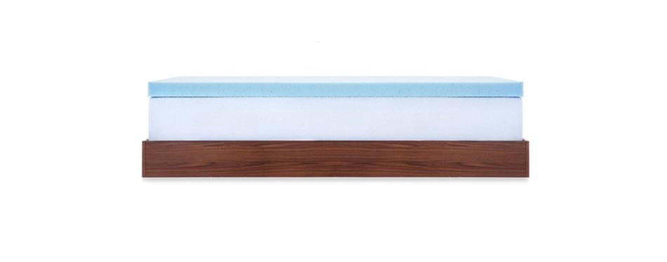 lucid 3-inch gel memory foam mattress topper