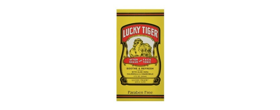 lucky tiger aftershave & facial tonic