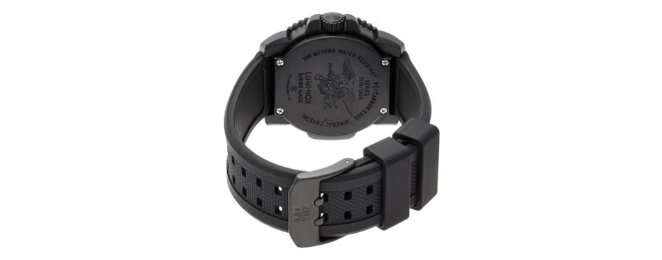 luminox evo navy seal blackout military watch