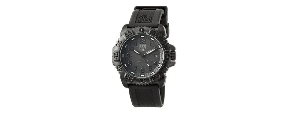 luminox evo navy seal blackout watch