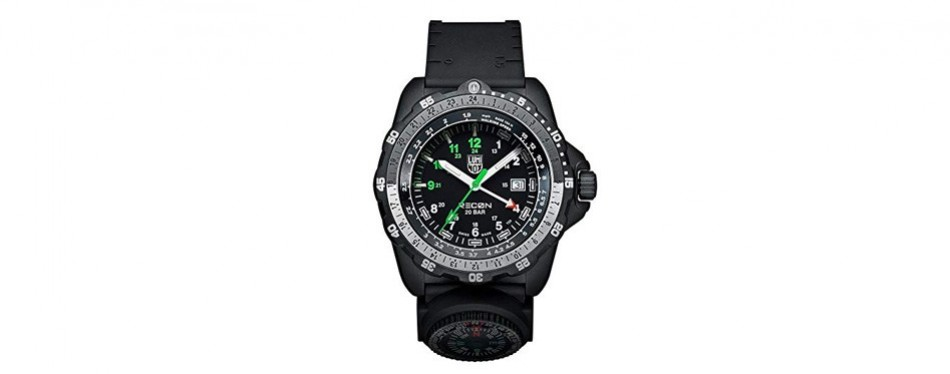luminox recon analog survival watch