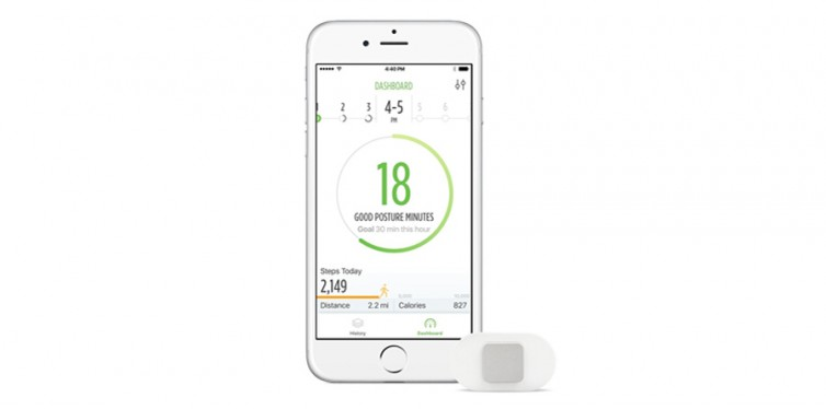 Lumo Lift Posture And Activity Tracker