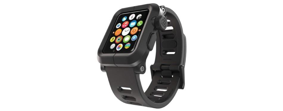 lunatik epik polycarbonate case and silicone strap for apple watch series 1