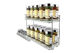 lynk professional slide out double spice rack