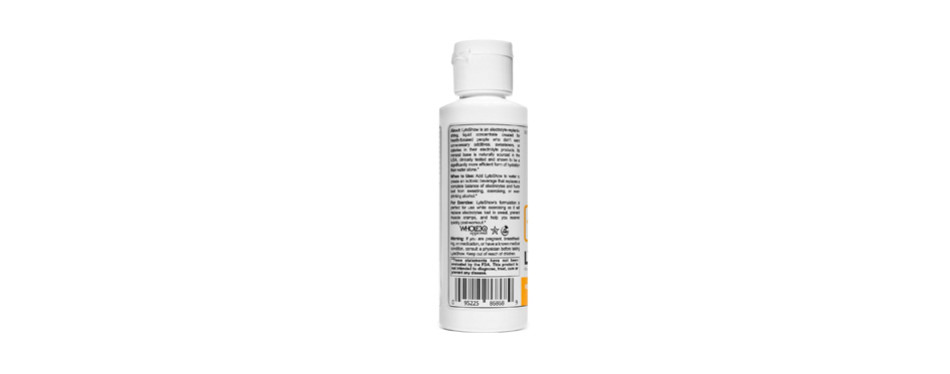 lyteshow electrolyte concentrate for rapid rehydration
