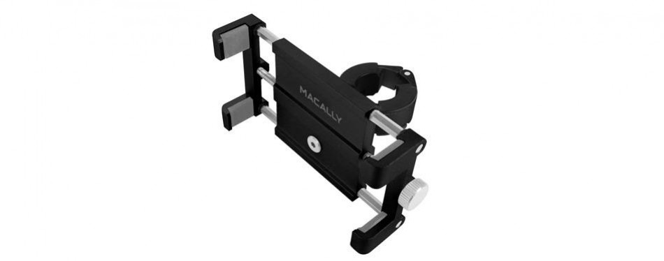 macally aluminium bike phone mount bicycle holder
