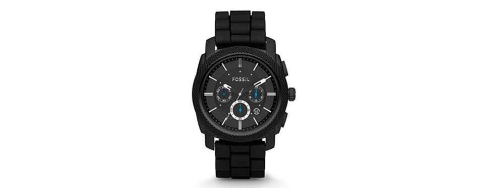 machine quartz chronograph watch