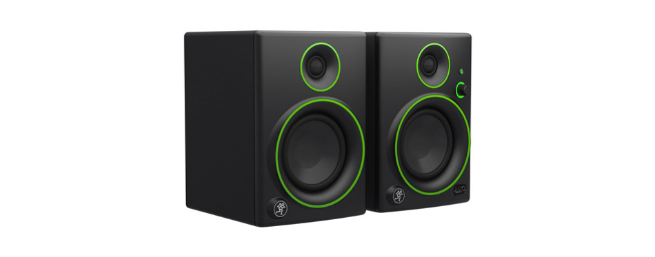mackie cr4bt 4″ multimedia studio monitors