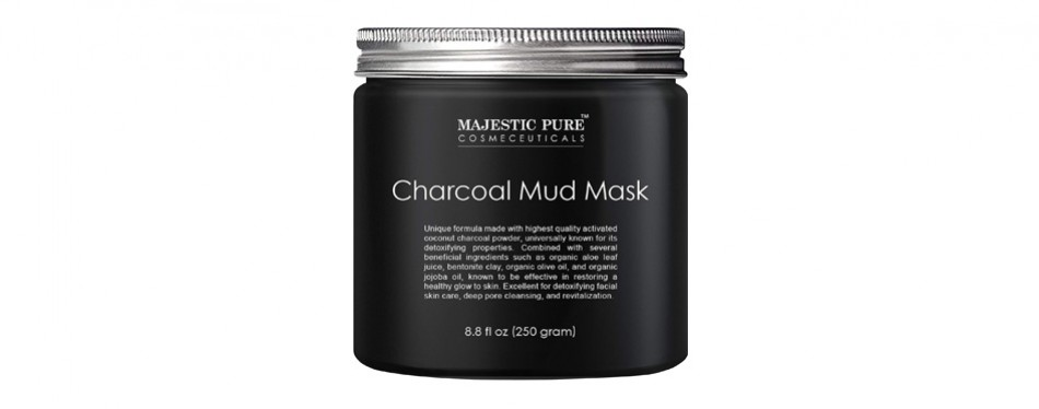 majestic pure's activated charcoal mud mask