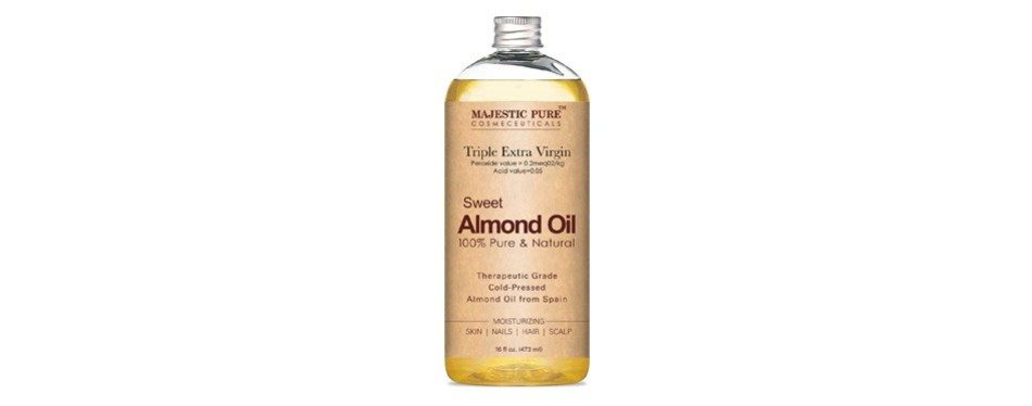 majestic pure sweet almond oil