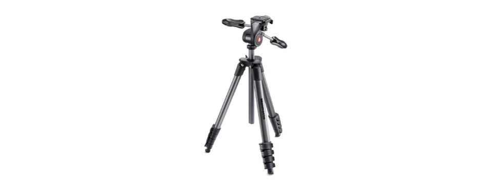 manfrotto compact advanced aluminum 5-section tripod kit