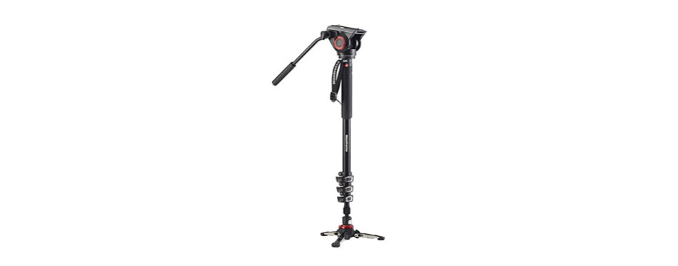 manfrotto xpro aluminum video monopod with 500 series video head