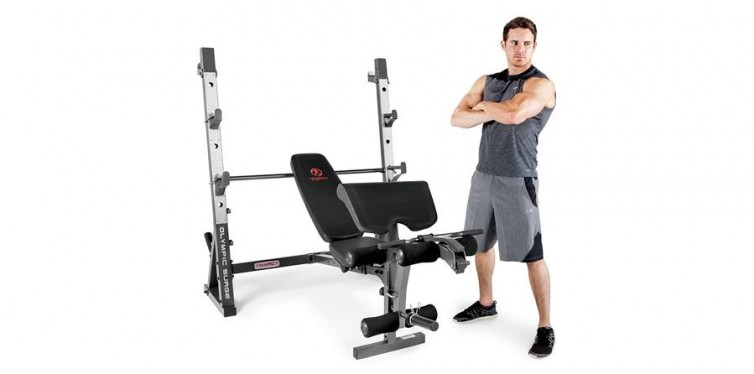 marcy olympic full-body workout bench