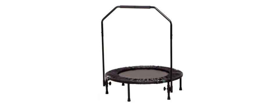 marcy trampoline cardio trainer with handle