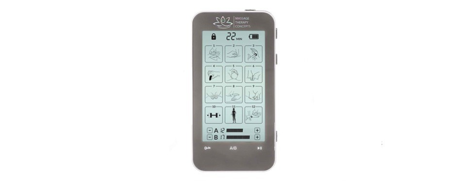massage therapy concepts tens/ems muscle stimulator