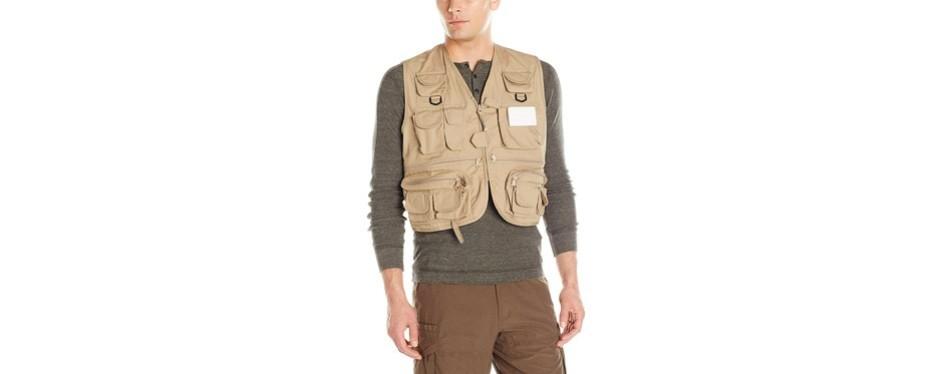 master sportsman adult fishing vest