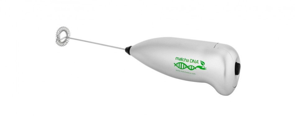 matchadna handheld electric milk frother