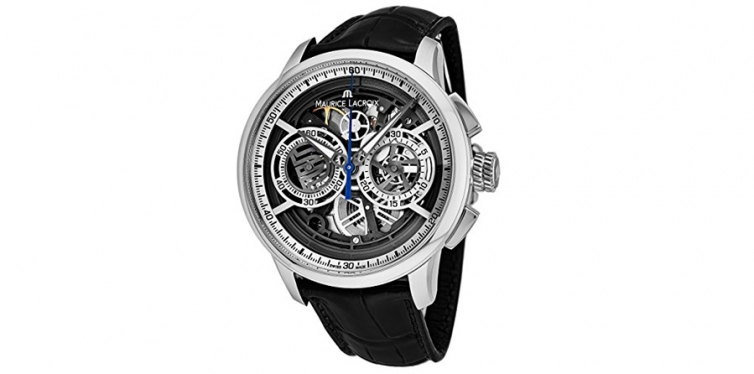 Maurice Lacroix Masterpiece Automatic Skeleton Watch